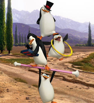 Circus Penguins!