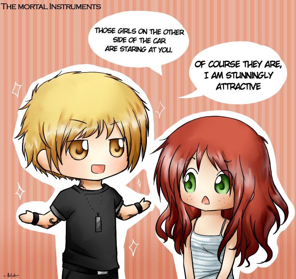 Jace and Clary Fan Art