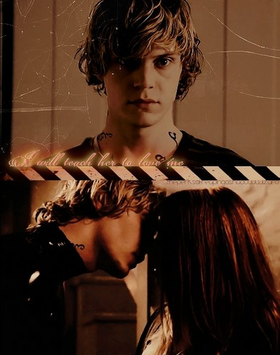 Mortal Instruments wallpaper possibly with a portrait entitled Clary and Sebastian/Jonathan