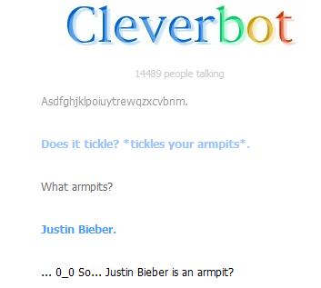 Cleverbot Conversation