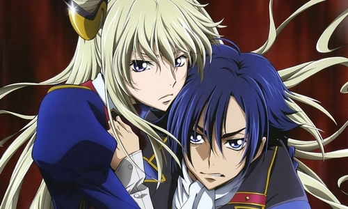 Code Geass karatasi la kupamba ukuta with anime entitled Code Geass