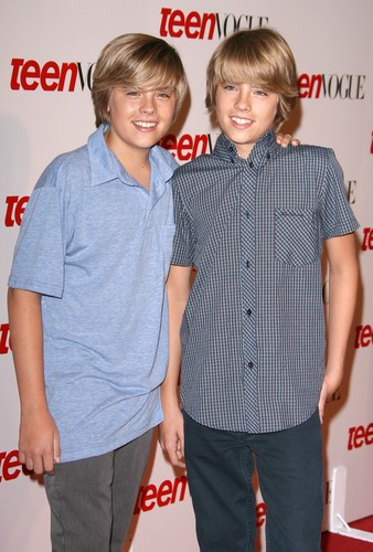 The Sprouse Brothers wallpaper probably with a well dressed person, long trousers, and a pantleg called Cole and Dylan Sprouse @ Teen Vogue Young Hollywood Party, 18 Sep 2008