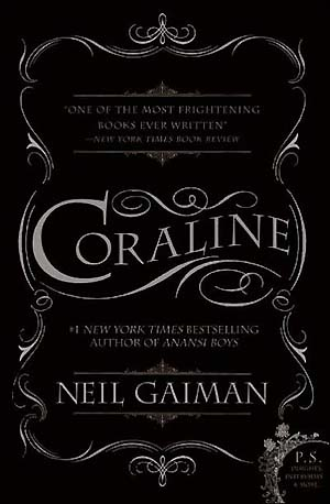 Neil Gaiman wallpaper probably containing a sign called Coraline