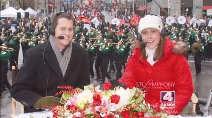 Covering the Ameren UE Thanksgiving Parade