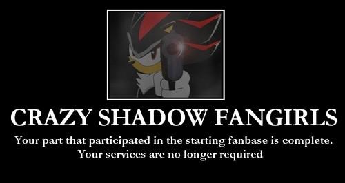 Crazy Shadow peminat Girls