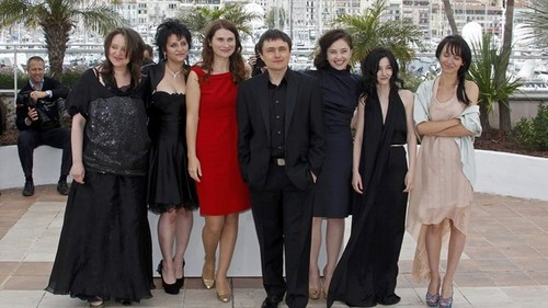 "Cristian Mungiu & co at Cannes with ""Beyond the Hills"" movie"