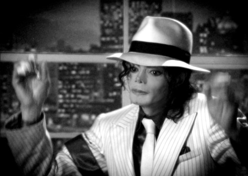Michael Jackson wallpaper containing a fedora and a boater titled Cutie KING ♥