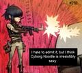 Cyborg noodle confession