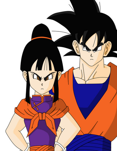 DBZ___Goku_and_ChiChi