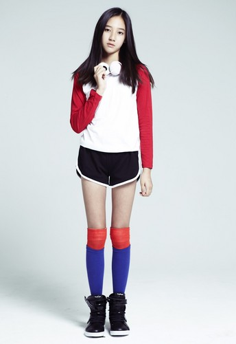 T-ARA (Tiara) wallpaper probably containing hosiery, a legging, and a stocking entitled Dani T-ara's  new member official pics