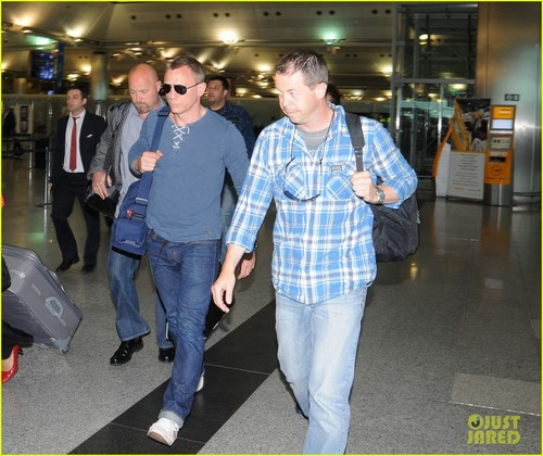 Daniel Craig: Turkey Takeoff