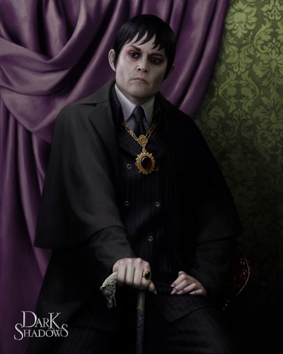 Tim Burton's Dark Shadows wallpaper titled Dark shadows - Barnabas Collins