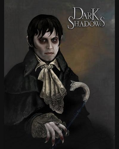 Tim Burton's Dark Shadows wallpaper called Dark shadows - Barnabas Collins