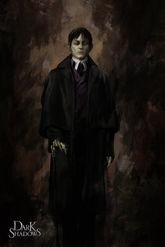 Tim Burton's Dark Shadows wallpaper called Dark shadows - Barnabas Collins