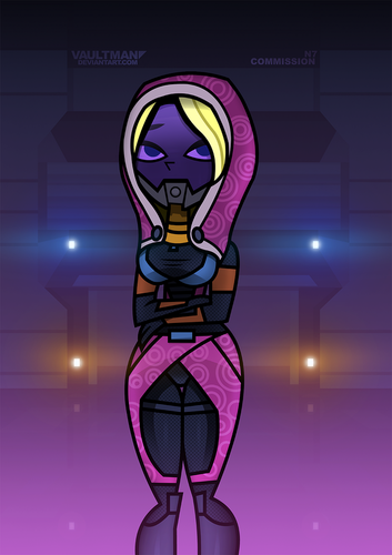 Dawn as Tali'Zorah