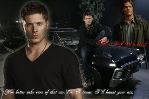 Dean, Sam, the Impala