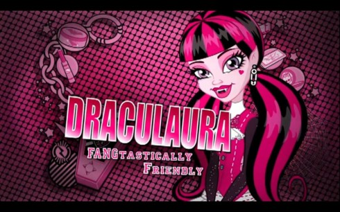 Monster High hình nền possibly containing anime called Draculaura Fangtastcially friendly