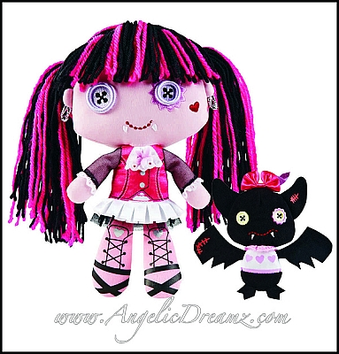 Draculaura and Count Fabulous toy