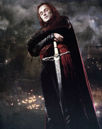 Robert Carlyle wallpaper possibly with a surcoat and a cloak entitled Durza