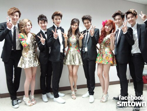 EXO-K with TaeTiSeo @ Dream Concert