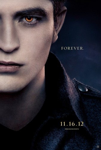 Edward Cullen - Breaking Dawn Part 2 Poster