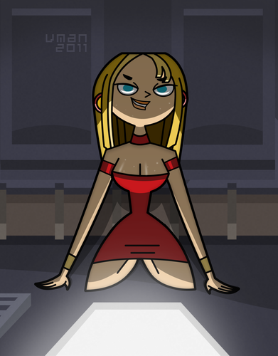 Total Drama Island wallpaper probably with anime entitled Elegant theif