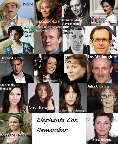 Elephants Can Remember My प्रशंसक Made Cast