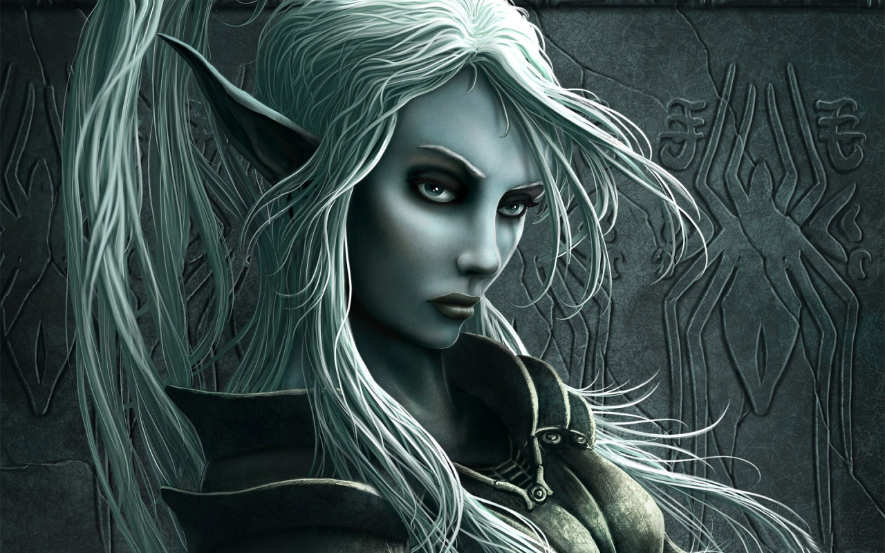 Fantasy Elf Woman