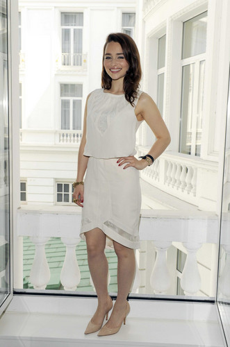 Emilia Clarke- Sky Atlantic HD Launchparty - Photocall