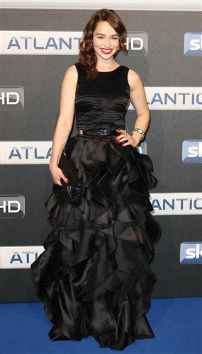 Emilia clarke @ Sky Atlantic HD Launchparty In Hamburg