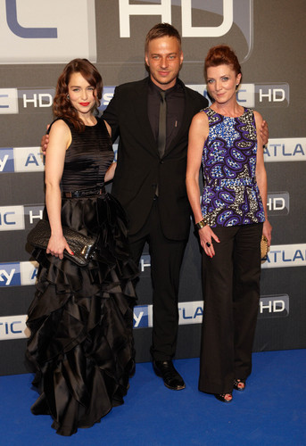 Emilia clarke, Tom Wlaschiha & Michelle Fairley @ Sky Atlantic HD Launchparty In Hamburg