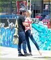 Emily VanCamp & Joshua Bowman: Kissy Couple - emily-vancamp photo