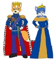 Emperor Fox and Empress Krystal - star-fox fan art