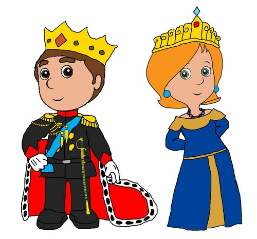 Emperor Manny and Empress Kelly