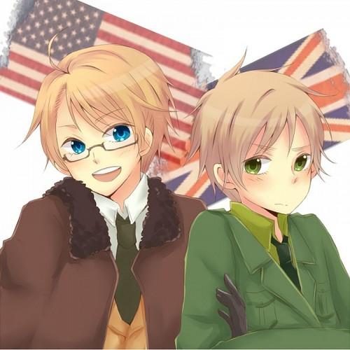 England & America~