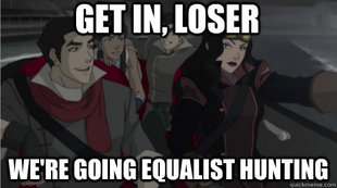 Avatar: The Legend of Korra wallpaper with anime called Equlist hunting