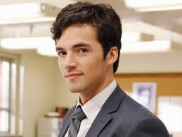 Pretty Little Liar kertas dinding with a business suit, a suit, and a three piece suit called Ezra Fitz
