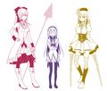 Fairy Tail x Mahou Shoujo Madoka Magica (Cosplay)