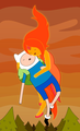 Finn and Flame Princess love