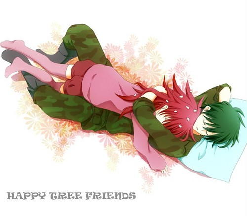 Flippy and Flaky sleeping