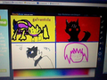 Flockdraw with biancakent, Silverfeather146, xbox57 and I - vanilacoco photo