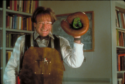 robin williams wallpaper containing a membaca room titled Flubber