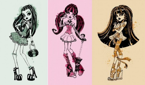 বন্ধু Monster High