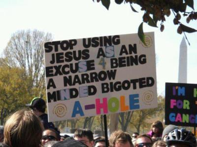 Funny Gay Marriage Signs - gay-rights Photo