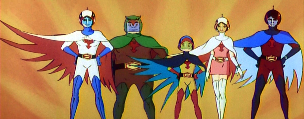 G Force Cartoon Characters Names : Gatchaman images gang wallpaper and background