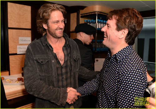 Gerard Butler wallpaper titled Gerard Butler: 'Motor City' Photo Call Reception!