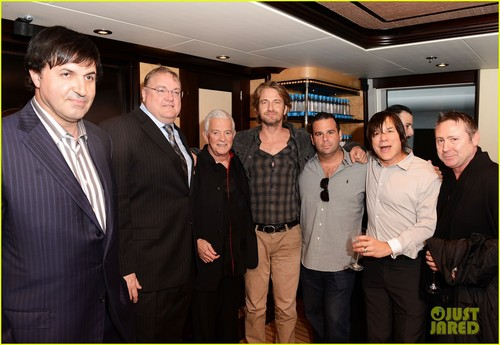 Gerard Butler: 'Motor City' foto Call Reception!