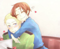 Germany and Italia  ^^ - hetalia-couples photo
