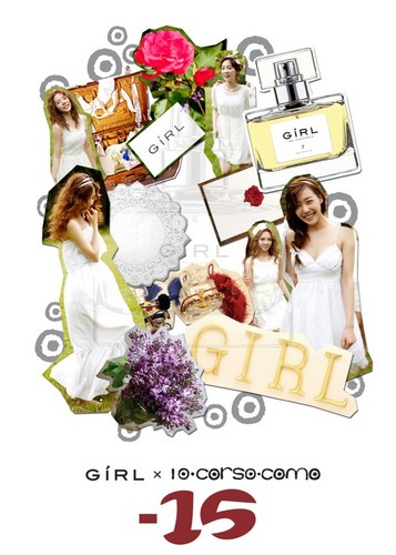 "Girls' Generation ""Girl"" perfume"