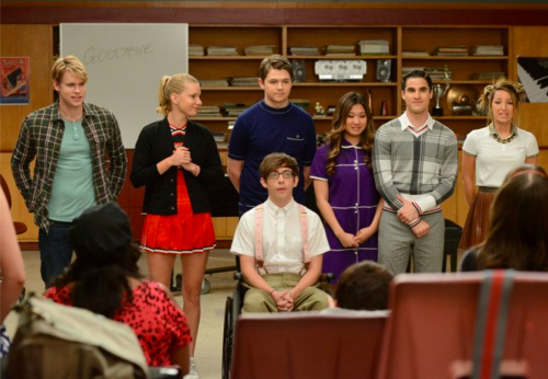 Glee 3x22 junior